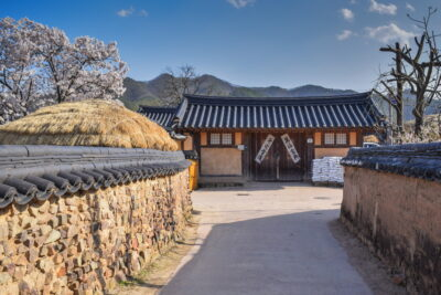 Ruelle d'Hahoe en Corée du Sud