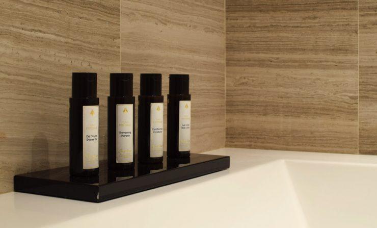 Shower gel & shampoo by Guerlain - Hôtel Marignan Elysées, Paris