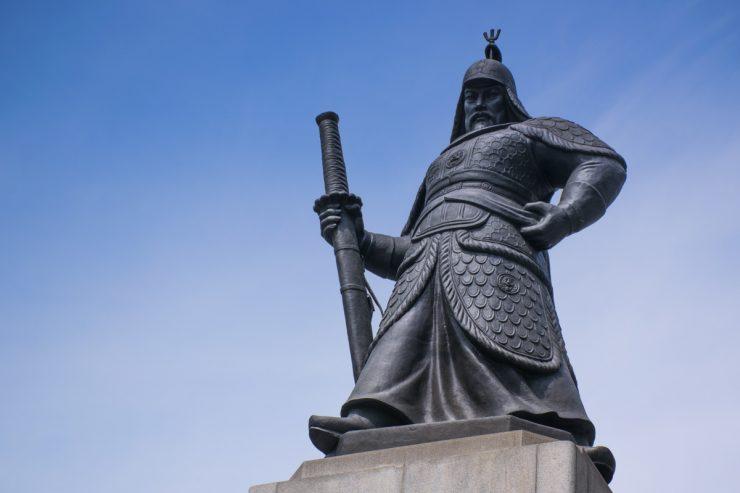 Statue à Séoul