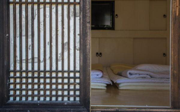 Chambre dans une hanok