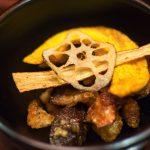 Champignons frits - Restaurant Balwoo