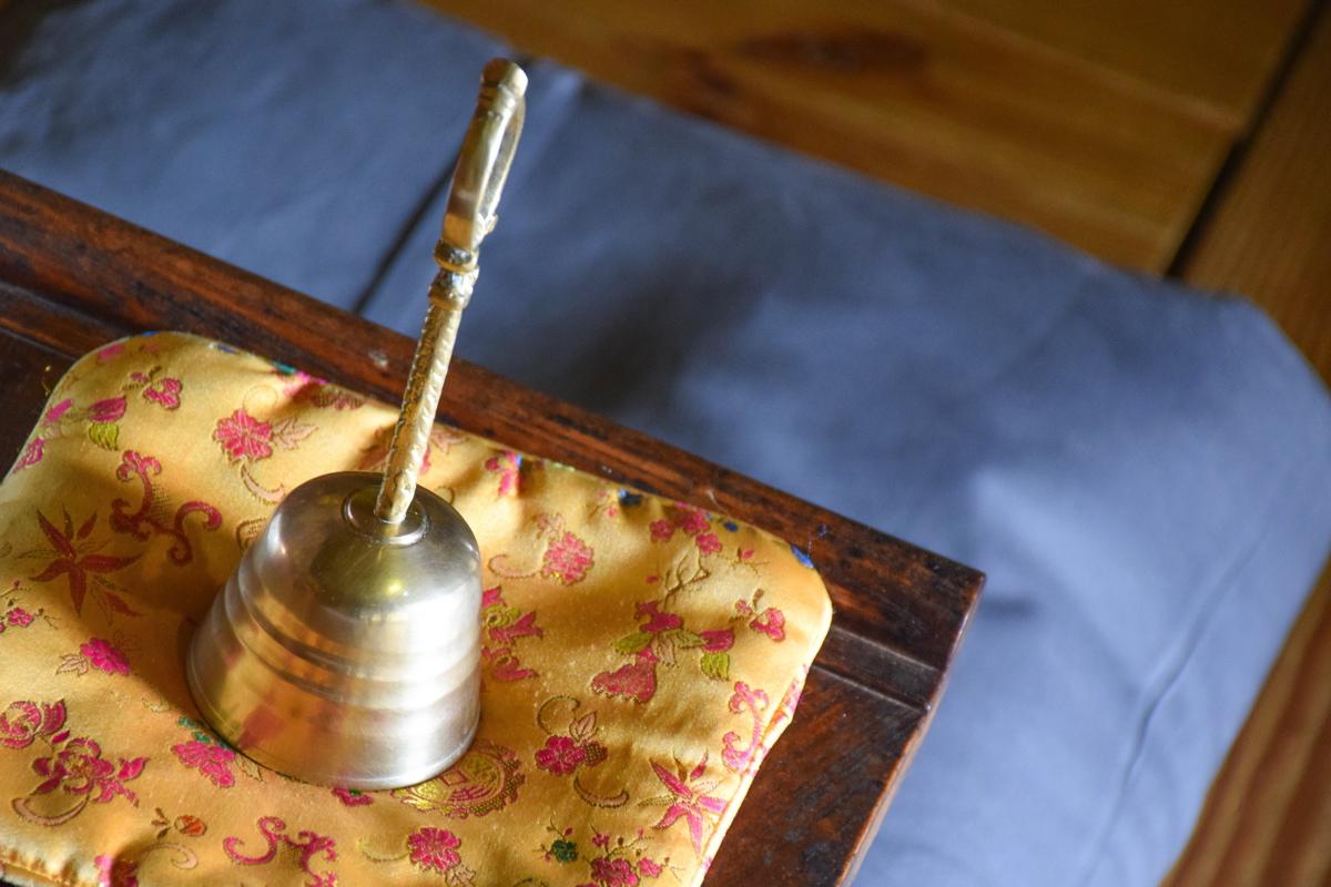 Cloche au temple Haeinsa