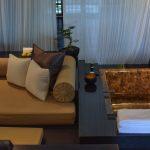 Coin salon de la villa du Nam Hai Hotel