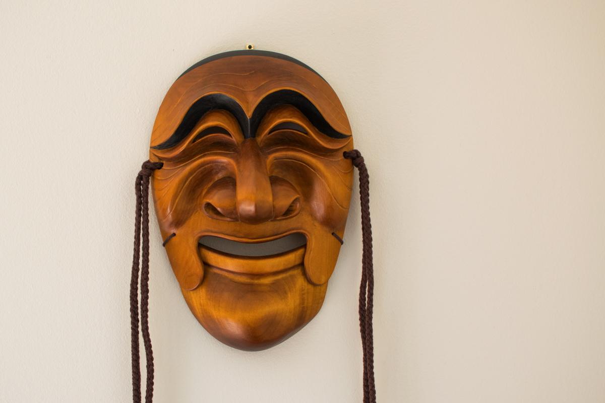 Noble man, masque d'Hahoe