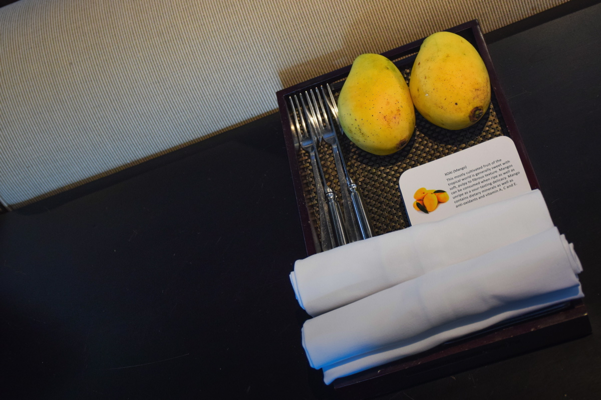 Organic mango - The Nam Hai Hotel