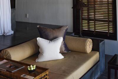 Salon de la villa au Nam Hai Hotel
