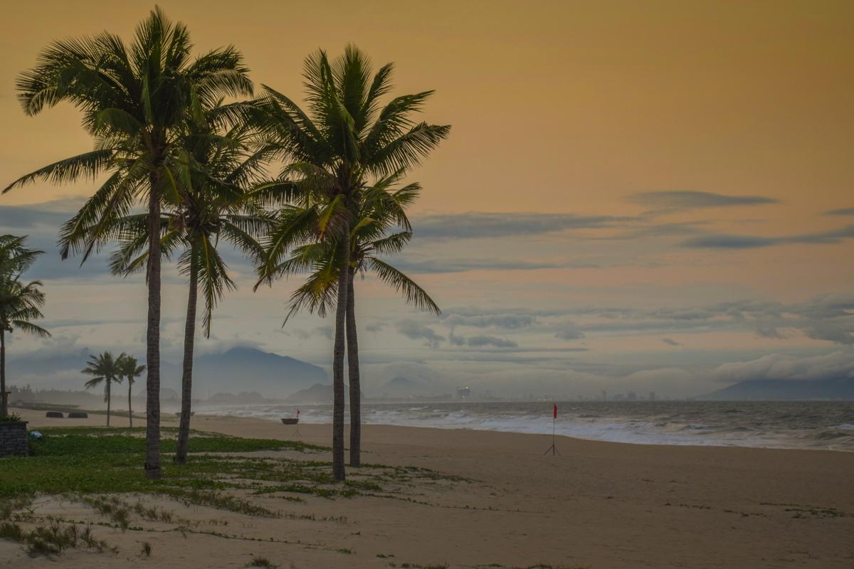 Sunset au Nam Hai Hotel
