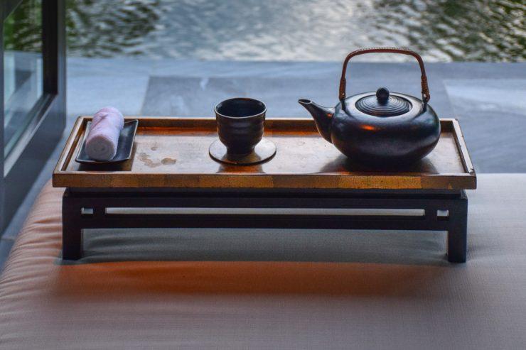 Tea time au Nam Hai