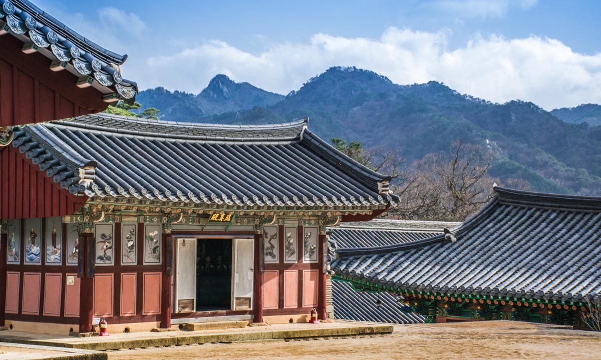Temple stay au temple Haeinsa