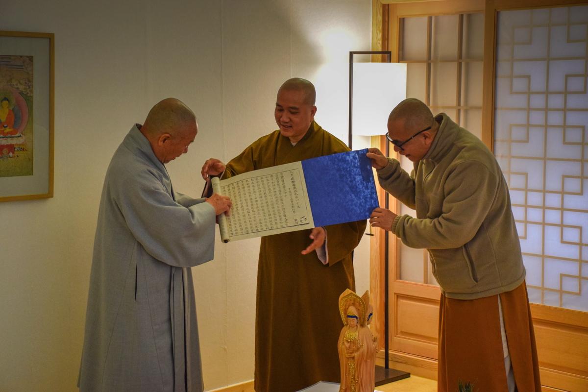 Temple stay en Corée du Sud