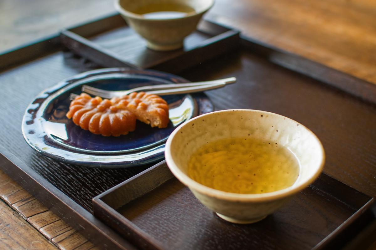 Welcome tea au hanok Rakkojae