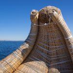 Bateau traditionnel des Uros