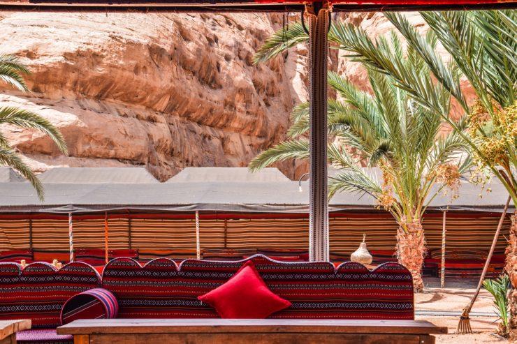 Camp dans le Wadi Rum