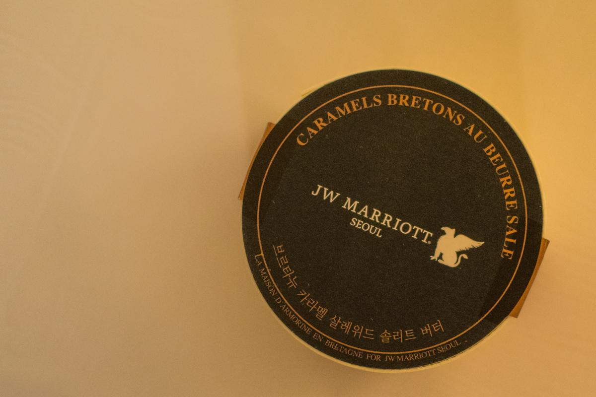 Caramels français au JW Marriott Hotel Seoul