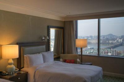 Chambre Executive au JW Marriott Hotel Seoul