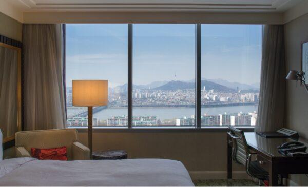 JW Marriott Hotel Seoul, en plein cœur de Séoul