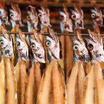 Poissons au marché de Jagalchi - Busan