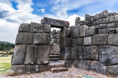 Ruines incas près de Cusco