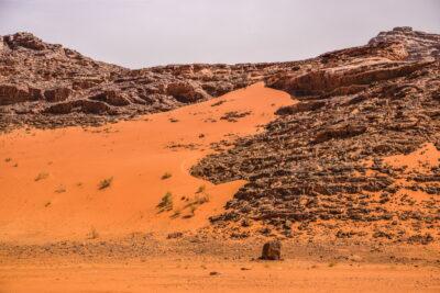 Wadi Rum en Jordanie