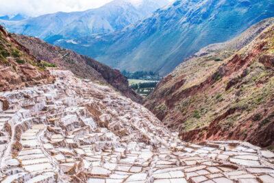 Salines de Maras au Pérou