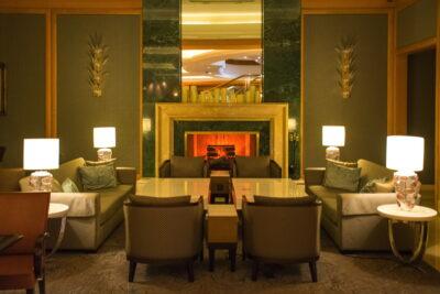 L'un des salons du JW Marriott Hotel Seoul