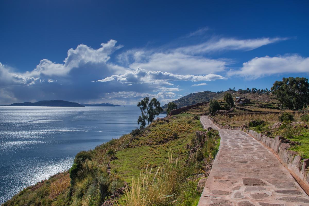 Taquile island - Peru