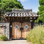 Entrée d'une maison traditionnelle d'Hahoe