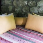 Terrasse de la chambre à l'Inkaterra Machu Picchu Pueblo