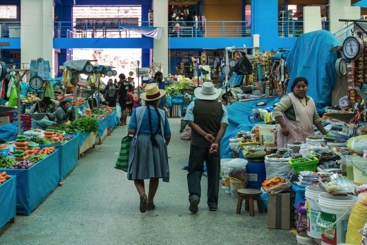 Allée du mercado de Urubamba