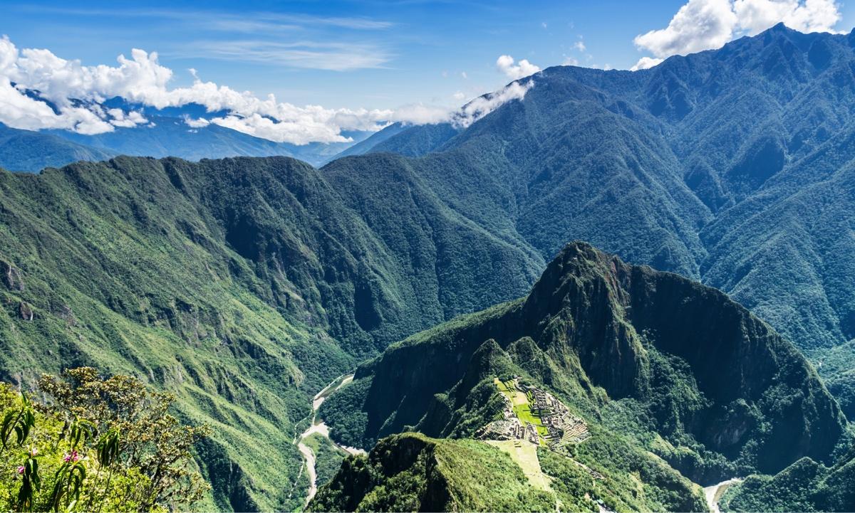 Ascension de la montagne Machu Picchu