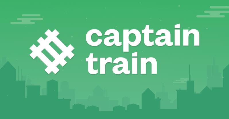 Captain Train, l'indispensable du voyage en train