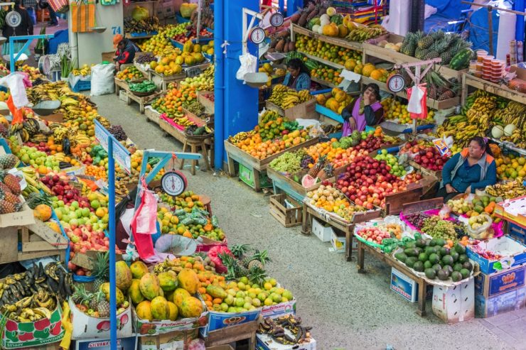 Colors - Mercado de Urubamba
