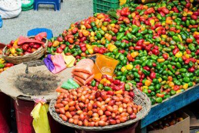 Couleurs au marché d'Urubamba