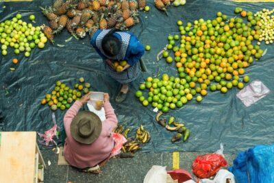 Fruits au marché d'Urubamba