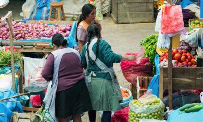 Marché d'Urubamba au Pérou