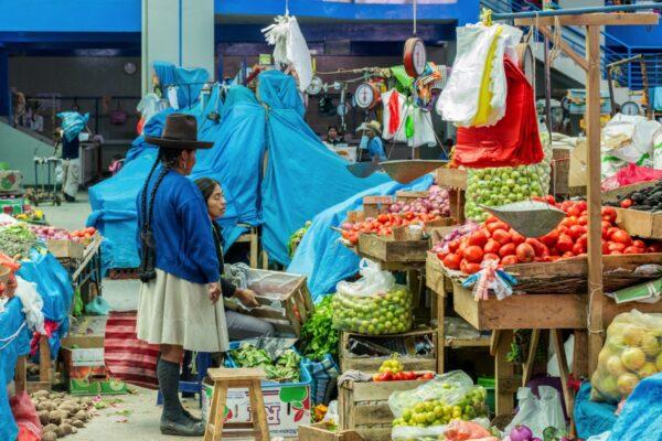 Mercado de Urubamba