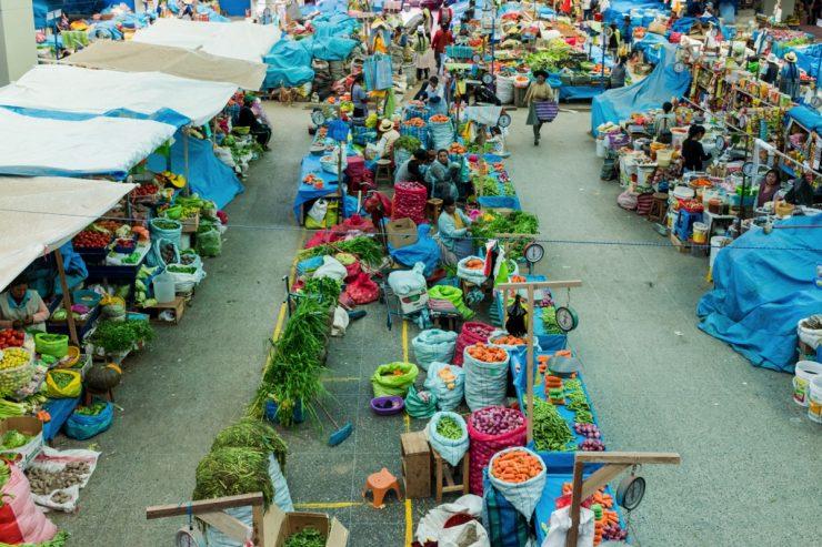 Mercado de Urubamba - Peru