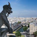 Panorama depuis les Tours de la cathédrale Notre-Dame de Paris