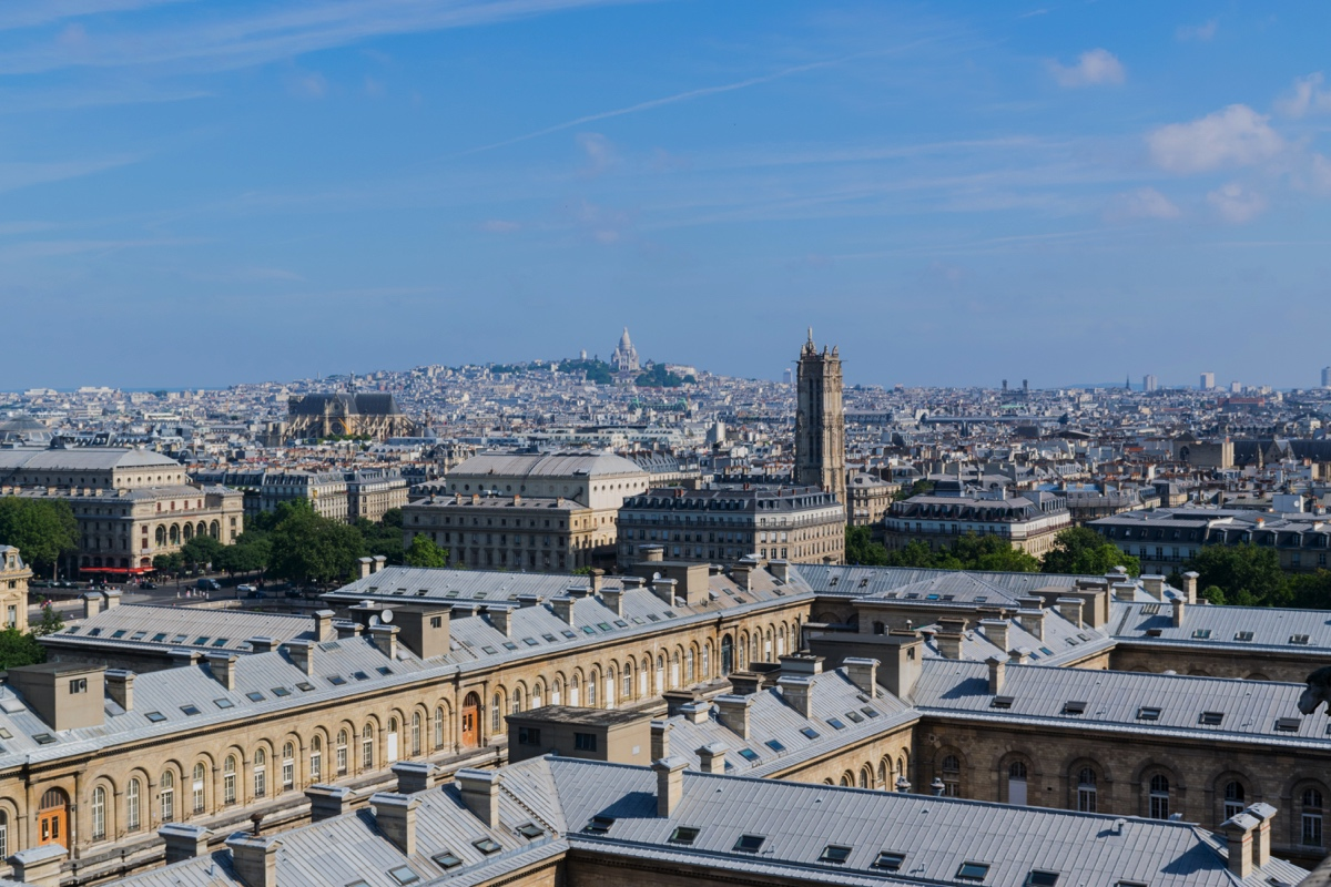 Panorama sur Paris