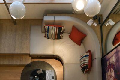 Chambre en duplex à l'hôtel le Cinq Codet