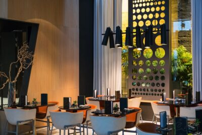 Restaurant de l'hôtel le Cinq Codet