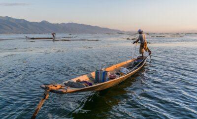 Art de la pêche sur le lac Inle