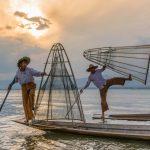 Faux pêcheurs du lac Inle