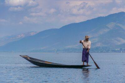 Fisherman - Myanmar