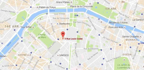 Hôtel le Cinq Codet à Paris