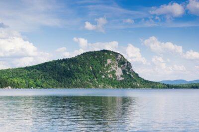 Lac pour une petite baignade