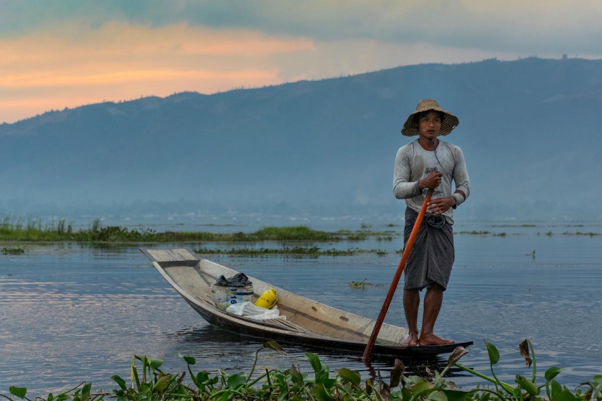 Fisherman - Inle lake, Myanmar