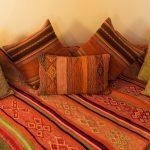 Sofa dans la chambre de l'Inkaterra Urubamba