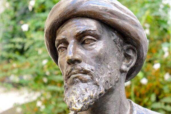 Statue de Maimonides dans la Juderia de Cordoue
