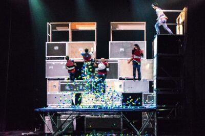 Spectacle de cirque à la Tohu